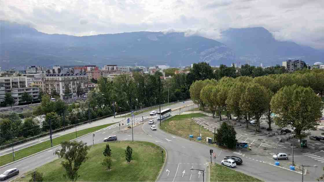 Quartier de l'Esplanade Grenoble