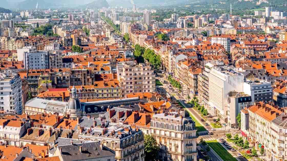 Les quartiers de Grenoble