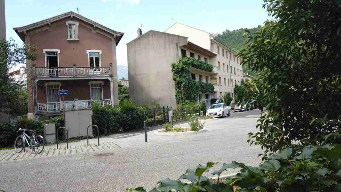 Quartier ile Verte Grenoble