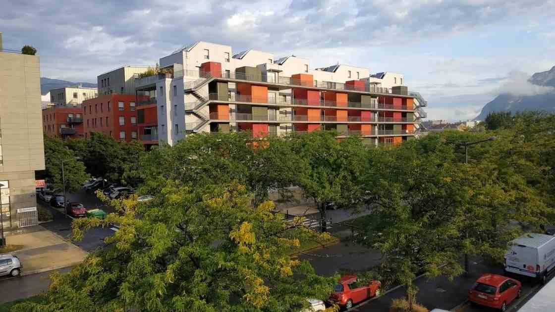 Quartier Vigny Musset à Grenoble