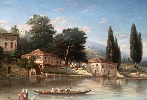 Antiquaire Grenoble peinture ancienne
