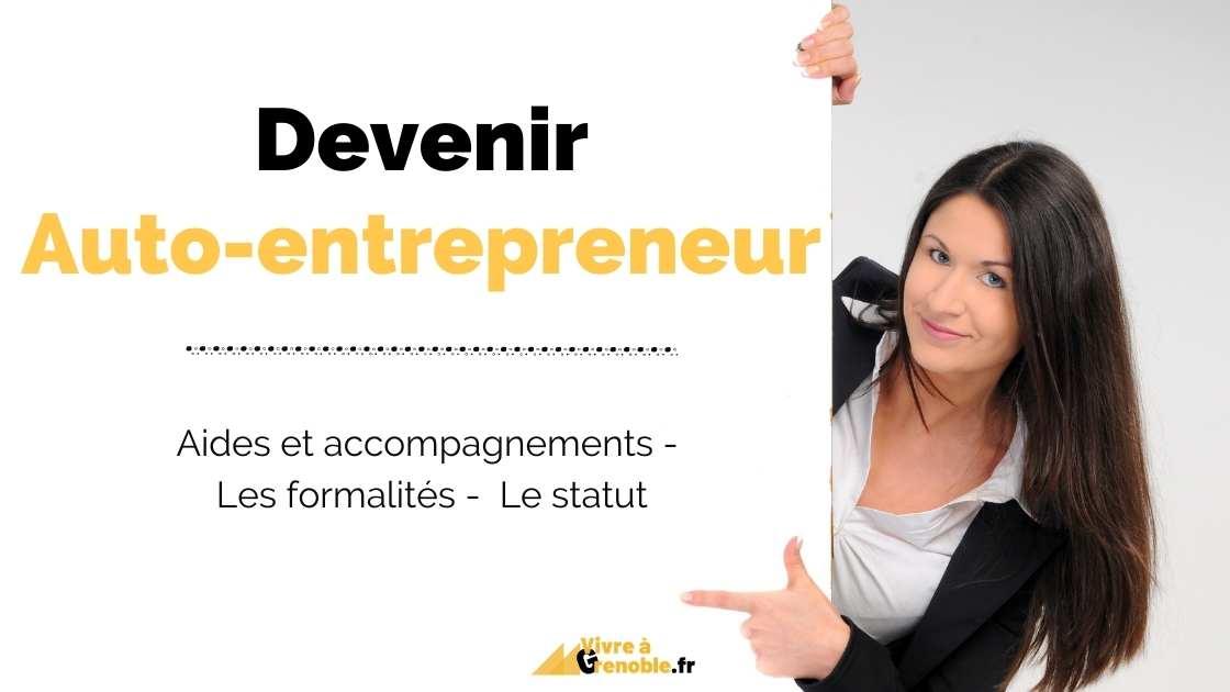 Guide auto-entrepreneur Grenoble