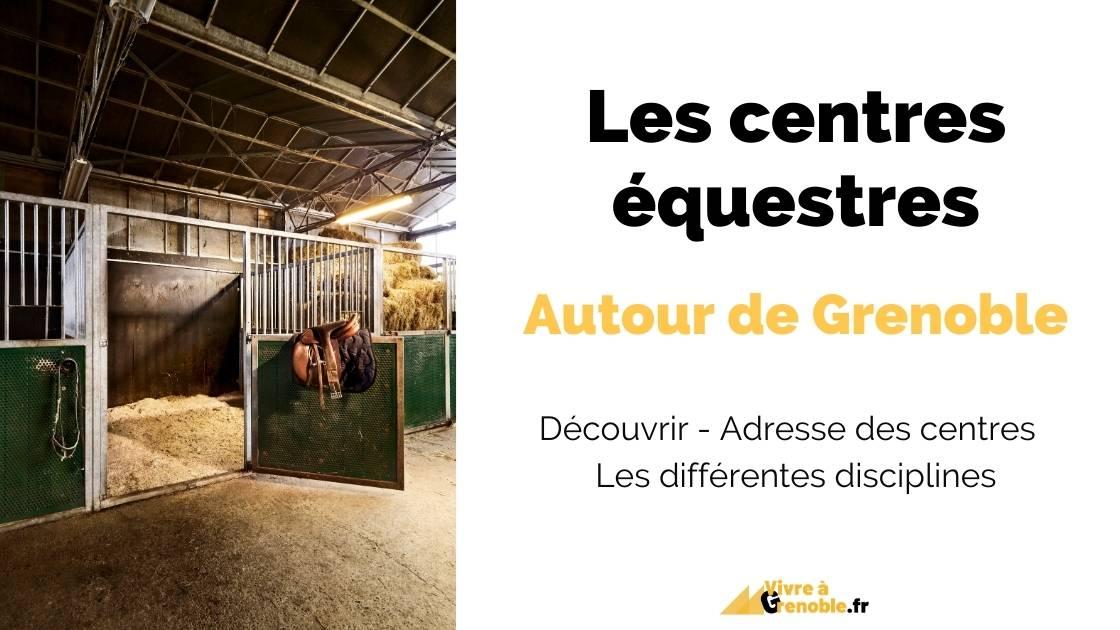 Centres équestres autour Grenoble