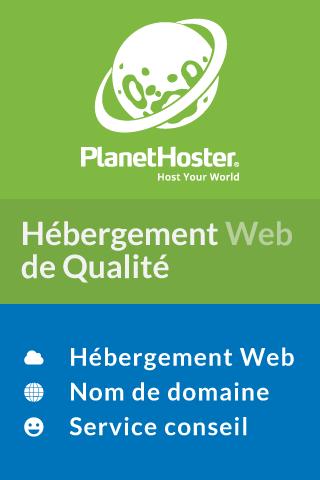 Hebergement web planethoster