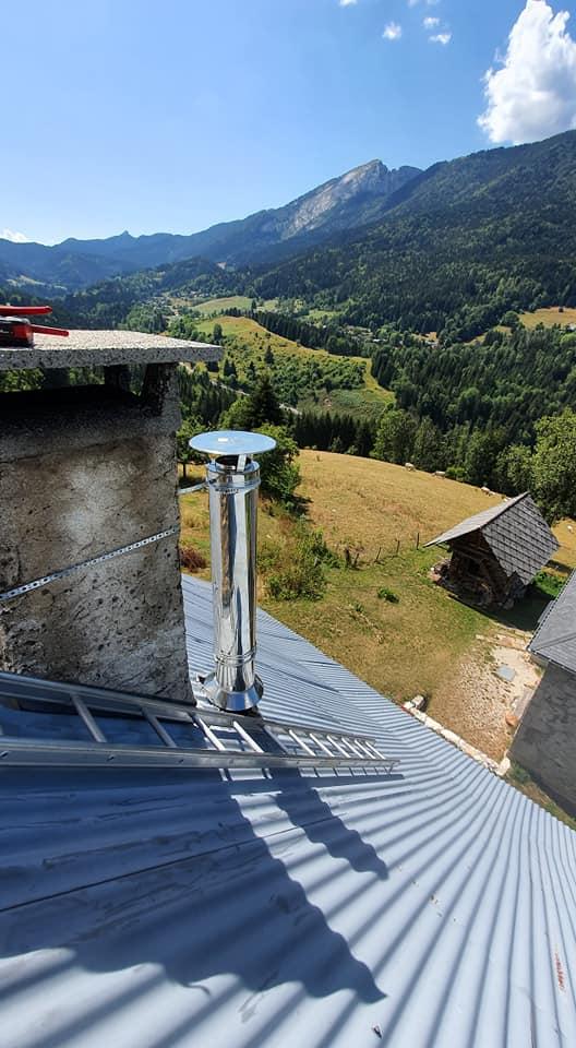Ramonage cheminée Grenoble