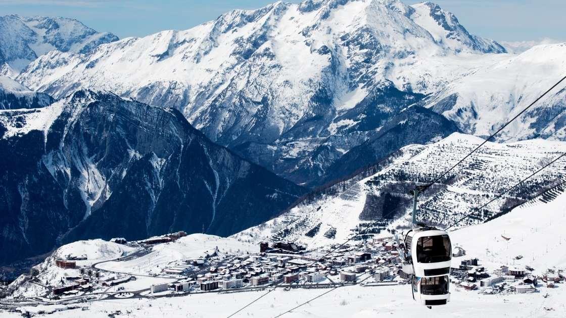 Grenoble - Station de ski Alpe d'Huez